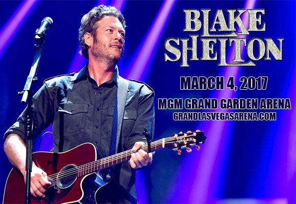 Blake Shelton at MGM Grand Garden Arena
