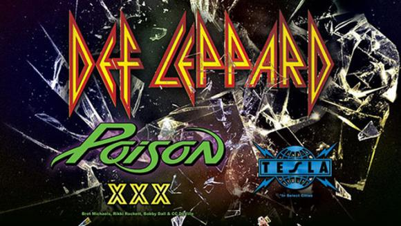 Def Leppard, Poison & Tesla  at MGM Grand Garden Arena