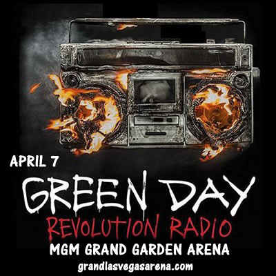 Green Day & Against Me! at MGM Grand Garden Arena