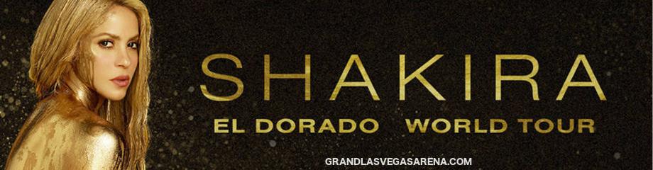 Shakira at MGM Grand Garden Arena