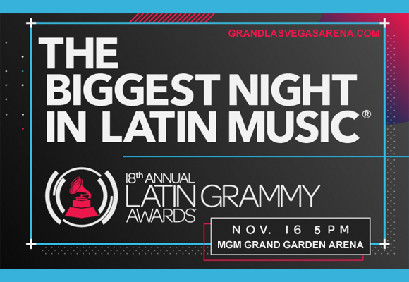 Latin Grammys at MGM Grand Garden Arena