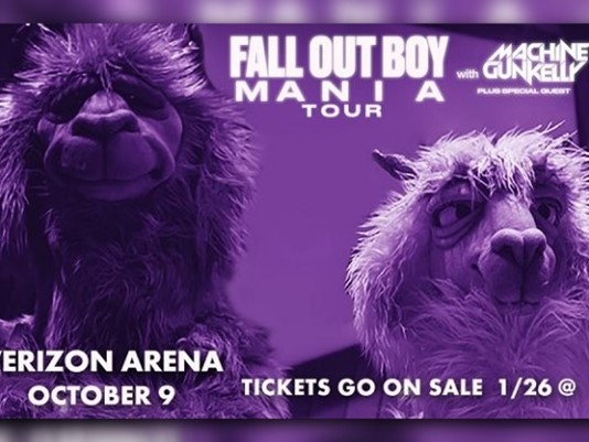 Fall Out Boy & Machine Gun Kelly at MGM Grand Garden Arena