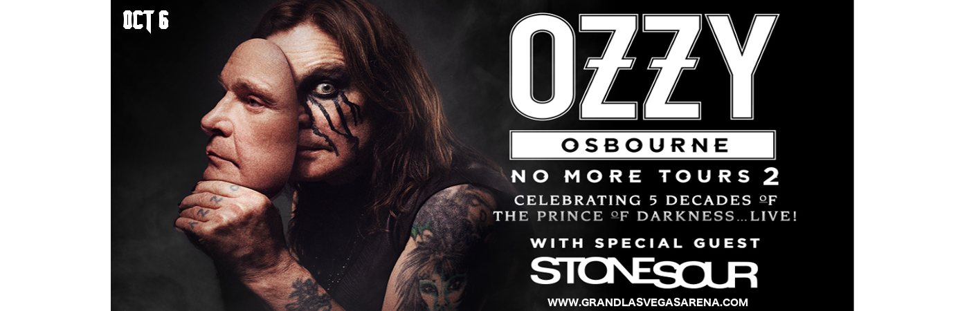 Ozzy Osbourne & Stone Sour at MGM Grand Garden Arena