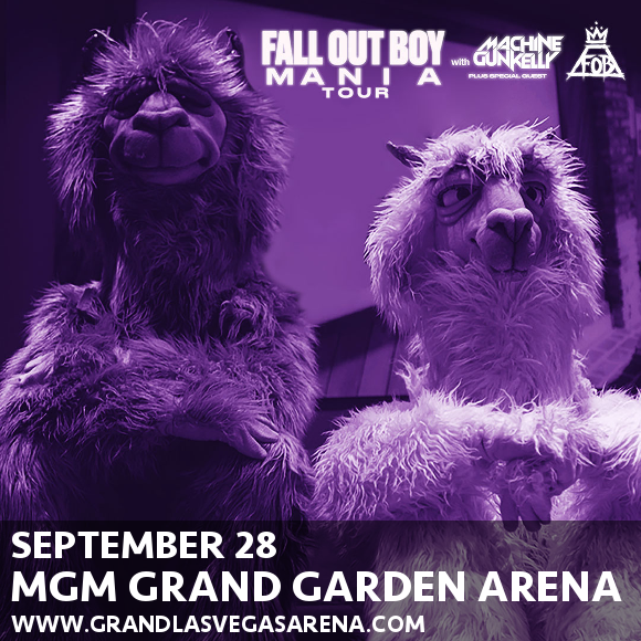 Fall Out Boy & Machine Gun Kelly at MGM Grand Garden Arena