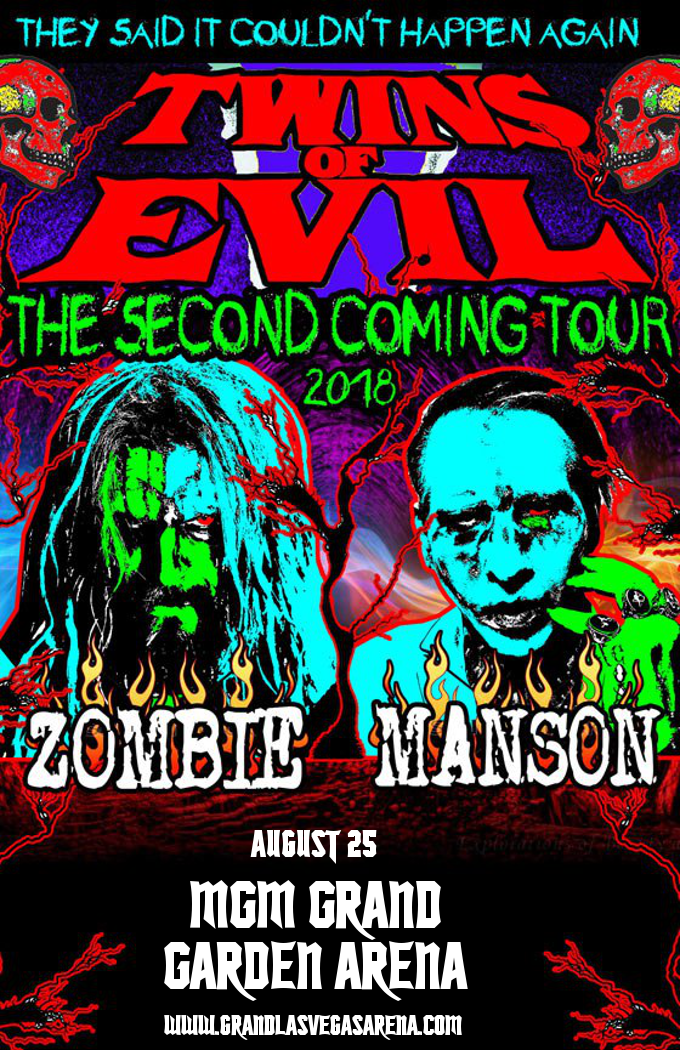 Rob Zombie & Marilyn Manson at MGM Grand Garden Arena