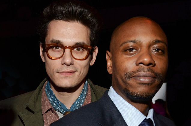 Dave Chappelle & John Mayer at MGM Grand Garden Arena