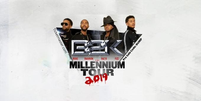 The Millennium Tour: B2K, Mario & Pretty Ricky at MGM Grand Garden Arena