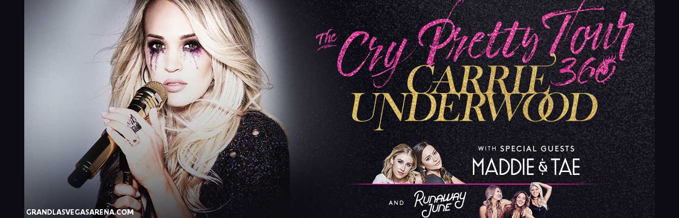 Carrie Underwood, Maddie and Tae & Runaway June at MGM Grand Garden Arena