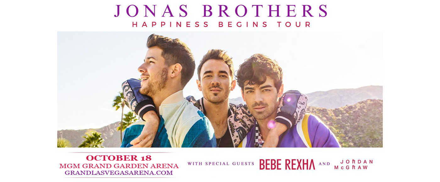 Jonas Brothers at MGM Grand Garden Arena