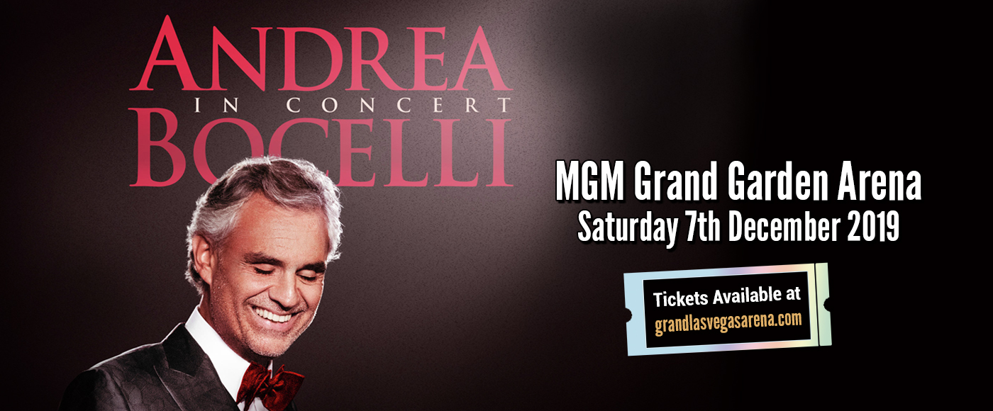 Andrea Bocelli at MGM Grand Garden Arena