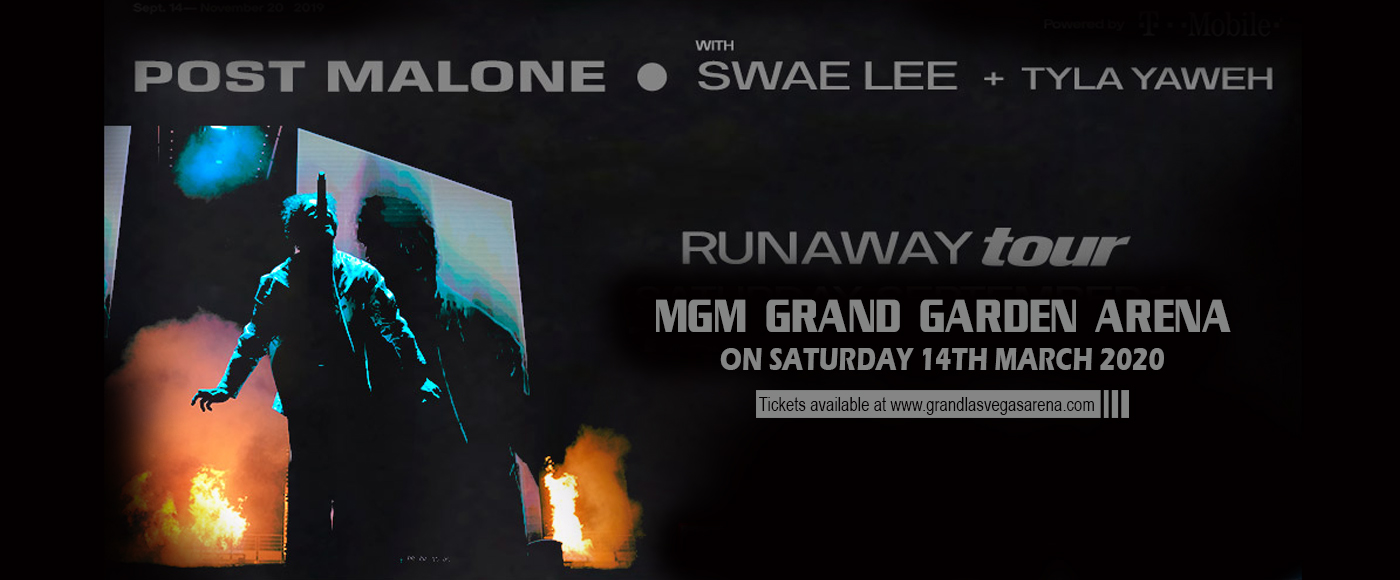 Post Malone at MGM Grand Garden Arena