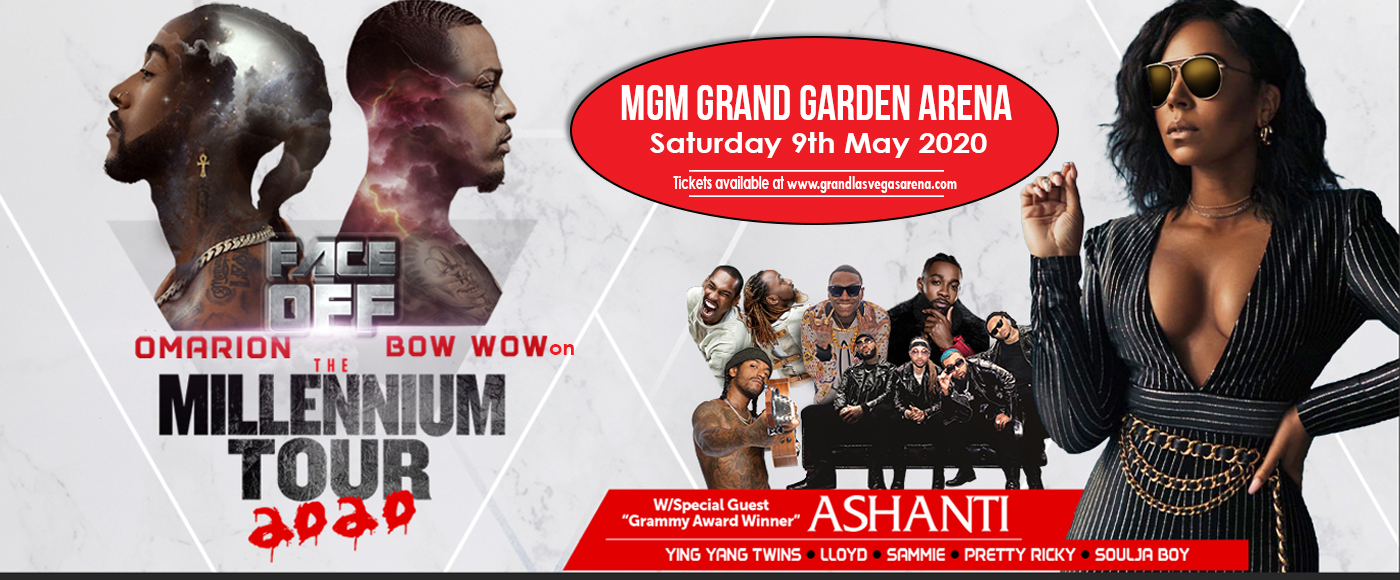 The Millennium Tour: Omarion, Bow Wow, Pretty Ricky, Ying Yang Twins, Soulja Boy & Ashanti at MGM Grand Garden Arena
