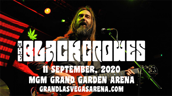 The Black Crowes [POSTPONED] at MGM Grand Garden Arena