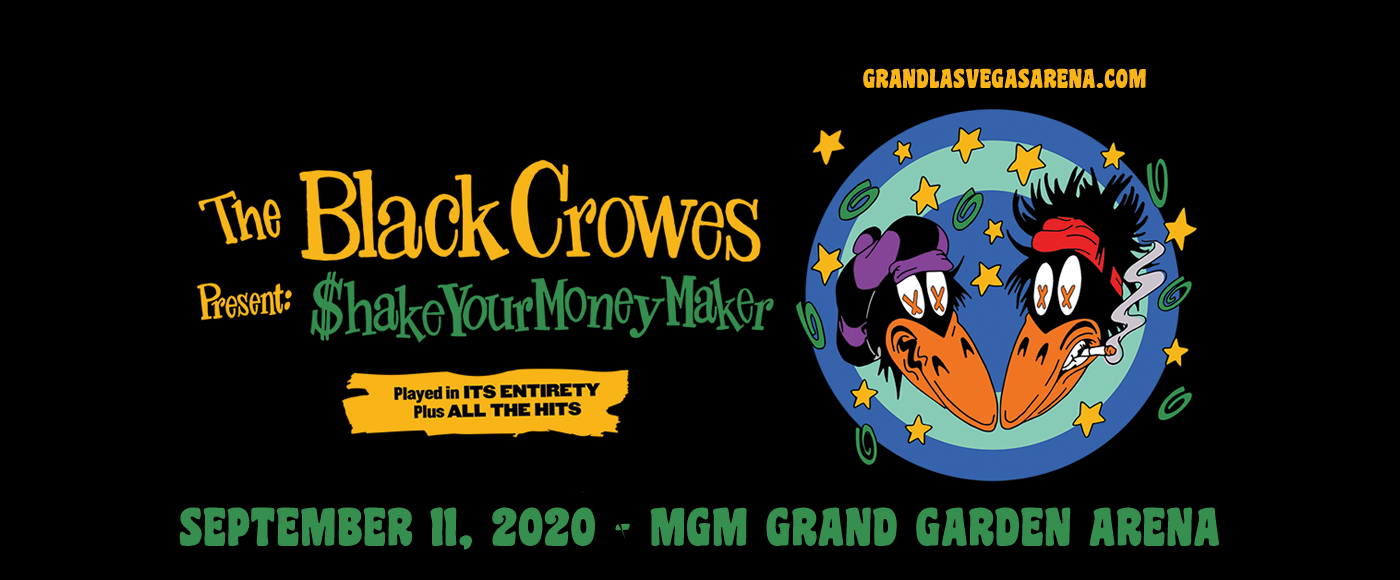 The Black Crowes [CANCELLED] at MGM Grand Garden Arena