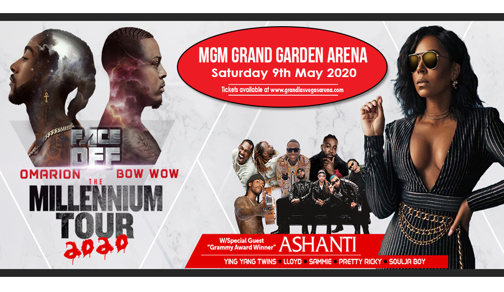 The Millennium Tour: Omarion, Bow Wow, Pretty Ricky, Ying Yang Twins, Soulja Boy & Ashanti [POSTPONED] at MGM Grand Garden Arena