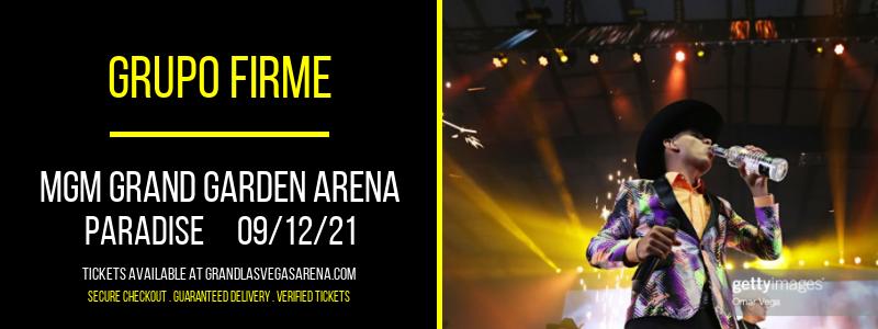 Grupo Firme at MGM Grand Garden Arena
