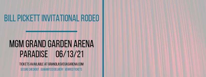 Bill Pickett Invitational Rodeo at MGM Grand Garden Arena