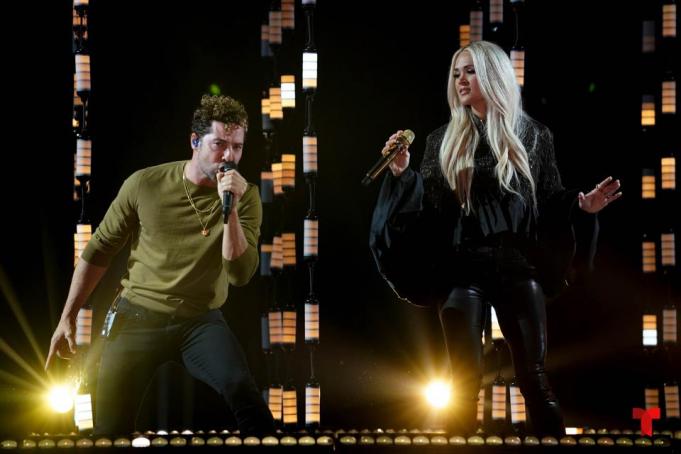 2021 Latin Grammy Awards at MGM Grand Garden Arena