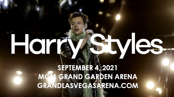 Harry Styles & Jenny Lewis at MGM Grand Garden Arena