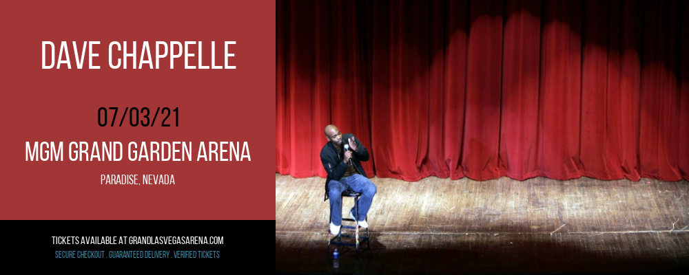 Dave Chappelle at MGM Grand Garden Arena