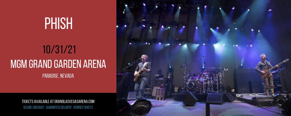 Phish at MGM Grand Garden Arena