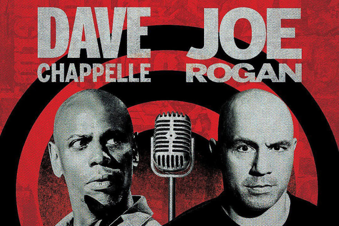 Dave Chappelle & Joe Rogan at MGM Grand Garden Arena